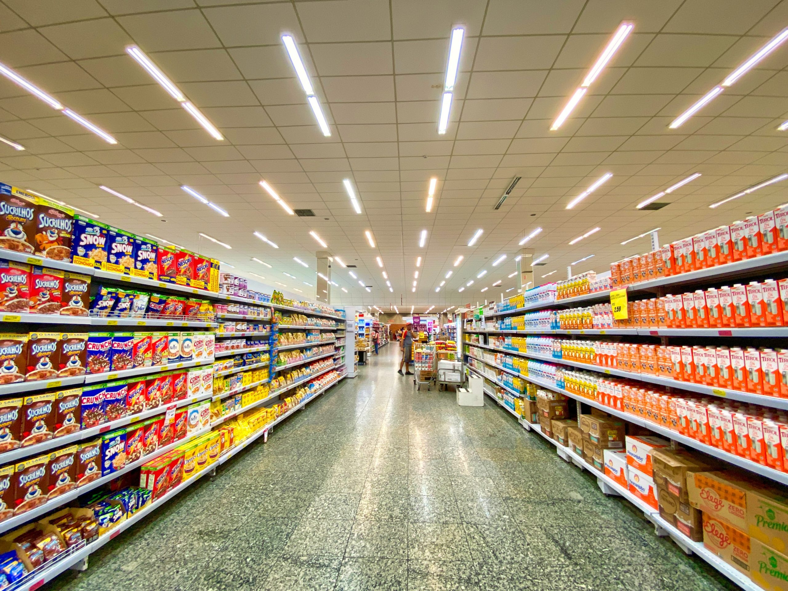 one-way aisles in publix